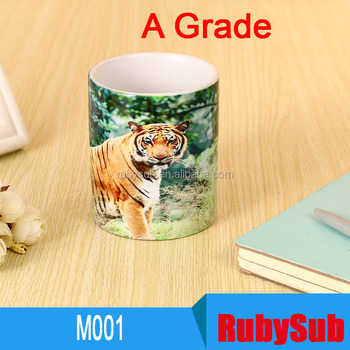 M001 A Grade 11oz Wholesale Customization Personality Sublimation Blanks White Ceramic Mug for Sublimation