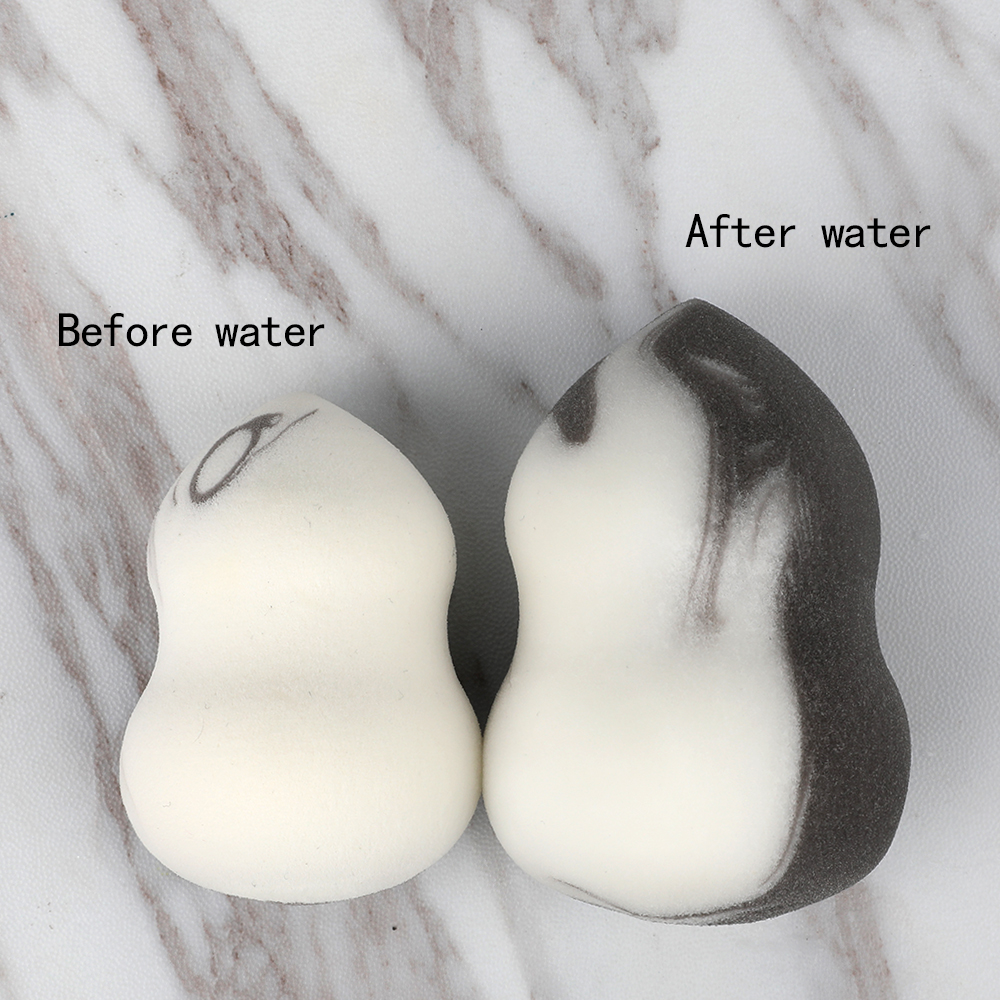 Washable Waterdrop Shape Non-latex Makeup Sponge