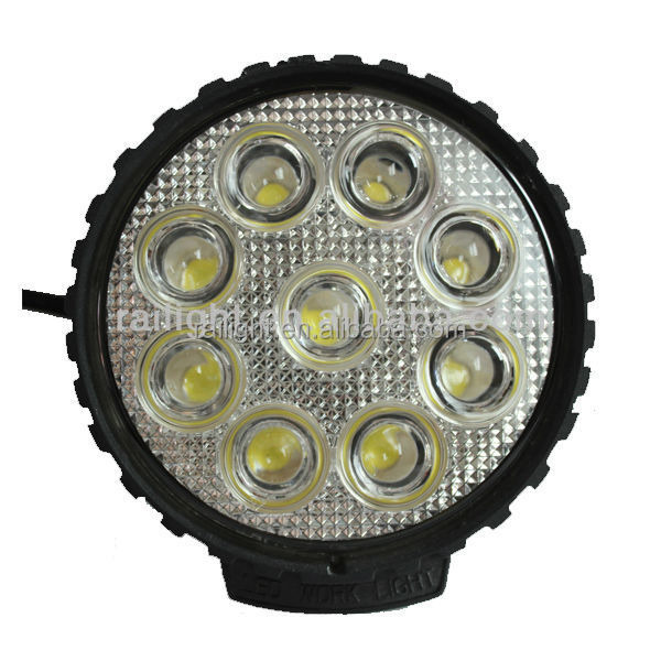 12v 27w led work light Super bright led tractor work light ,CE certificate and waterproof