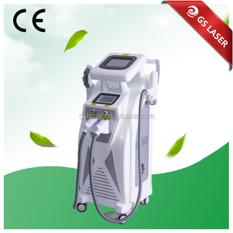 2016 Best selling spots removal ipl rf nd yag laser machine
