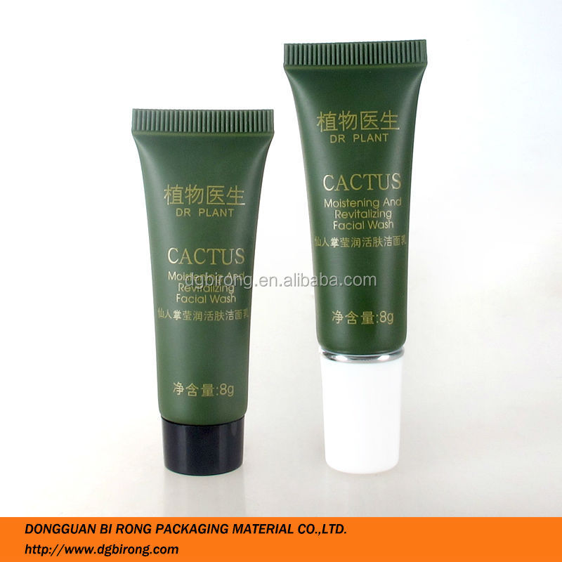 Small 5 Layer Plastic Cosmetics Facial Wash Tube
