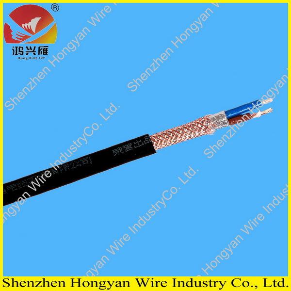 300/300v Copper Conductor Pvc Insulation Pvc Sheath Shielded 2 Core ...