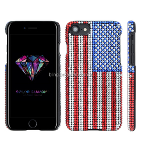 America United kingdom flag diamond case for Samsug Galaxy J7