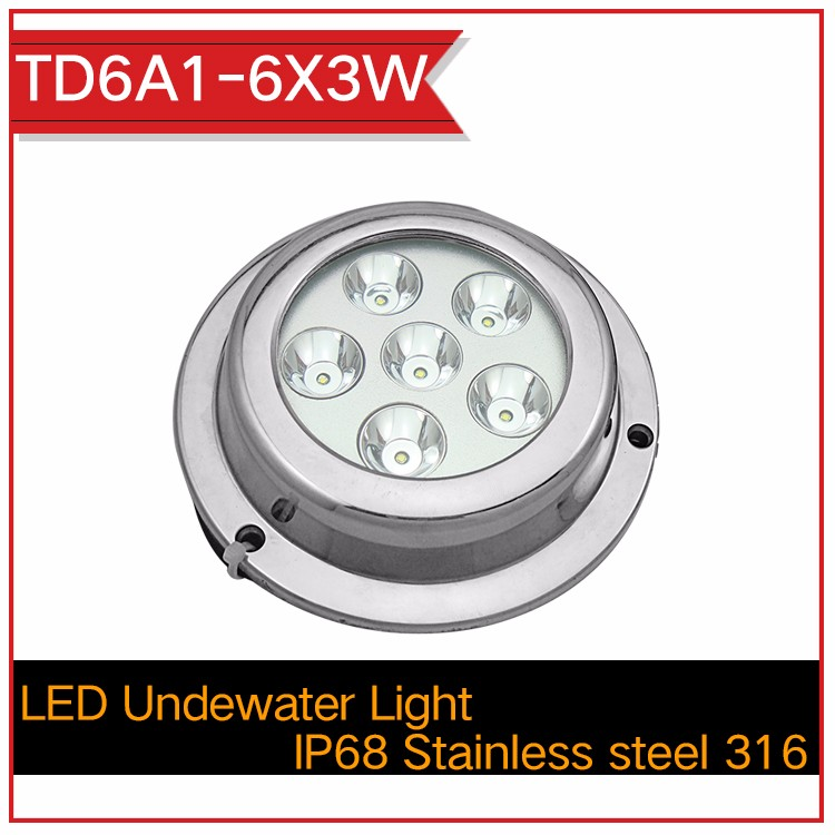 36W IP68 LED Underwater Boat Marine Light(RGB Available) ZY-TDF02-12X3WRGB