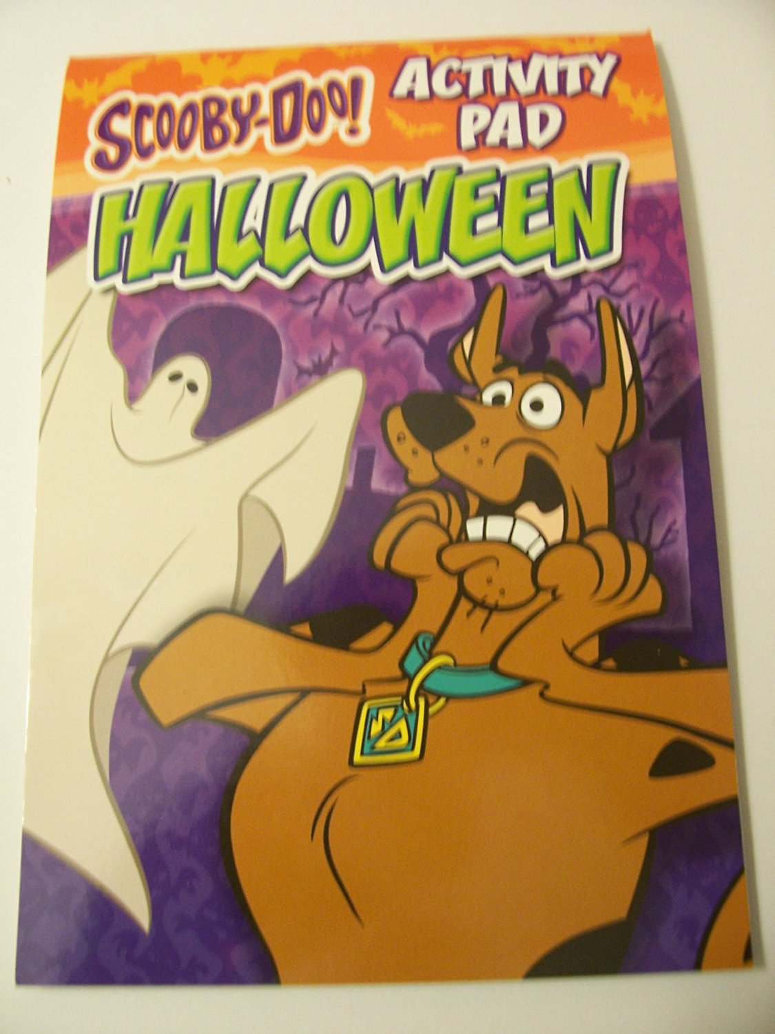 buy scooby-doo! holiday activity pad ~ halloween (scooby with ghost
