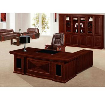 classic wooden executive desk l shape executive desk set with side rh alibaba com