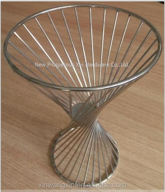Customize Arctistic copper wire basket