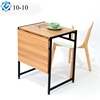 foldable furniture eat at coffee table lift up and extend top diy transform study desk into dining table 2 in 1
