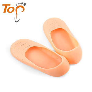 Silicone Gel Moisturizing invisible ankle boat Socks