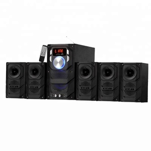 5.1 Perfect Sound Multimedia Speakers Home Theatre System with Digital Input for Computer Music Radio