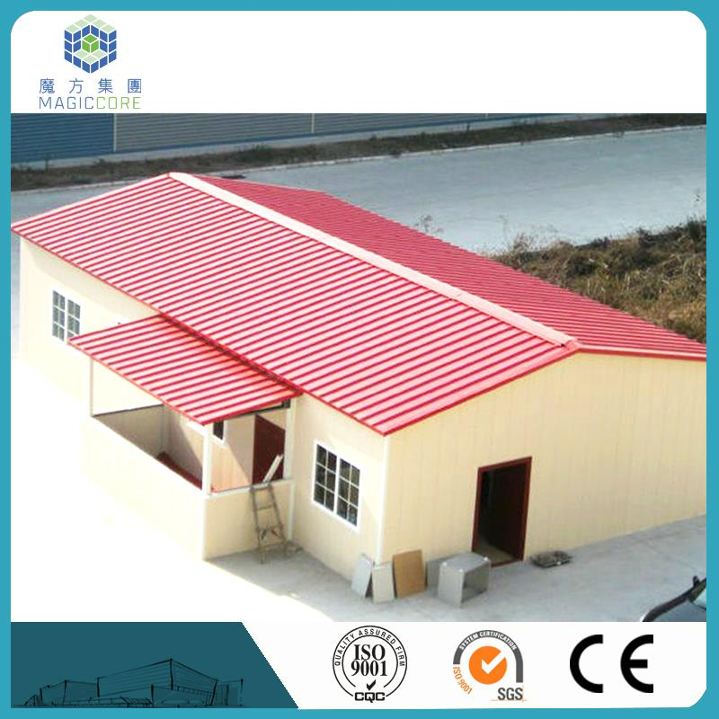 light steel frame sandwich panel pre fab house customized different color sandwich panel lowes building kits