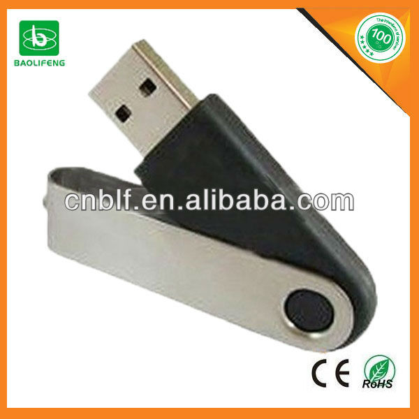 Bulk cheap promotion gift metal swivel usb pendrive