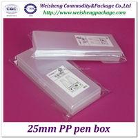 hard plastic PP pen and pencil case