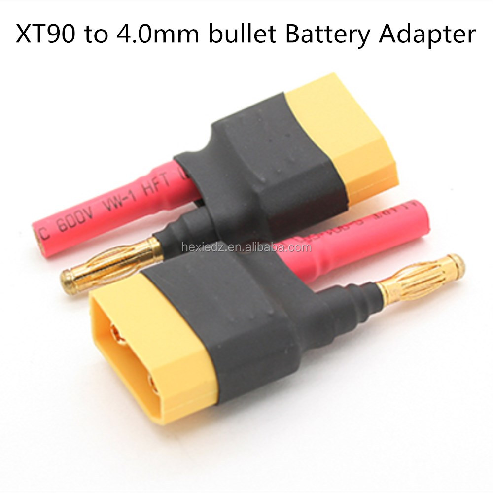 XT90 to 4.0mm bullet RC Battery Adapter