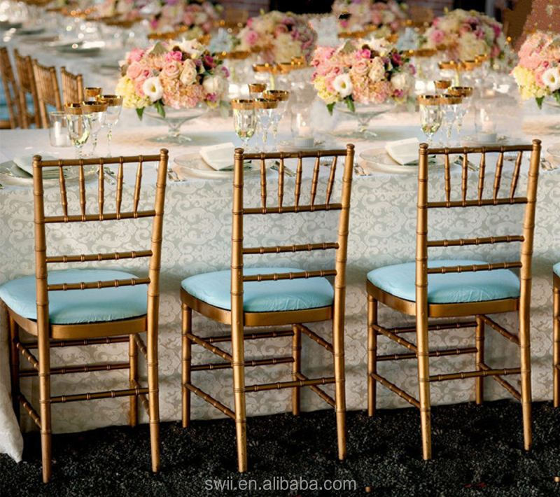 Hot Selling General Use Napoleon Wedding Chairs Used Hotel Tiffany