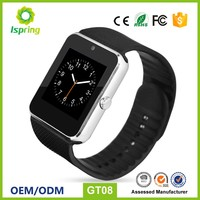 Bluetooth Smart Watch Gt08 DZ09 A1 Wrist Watch Wearable Smartwatch Sport Wristwatch for Apple samsung Ios android Phones