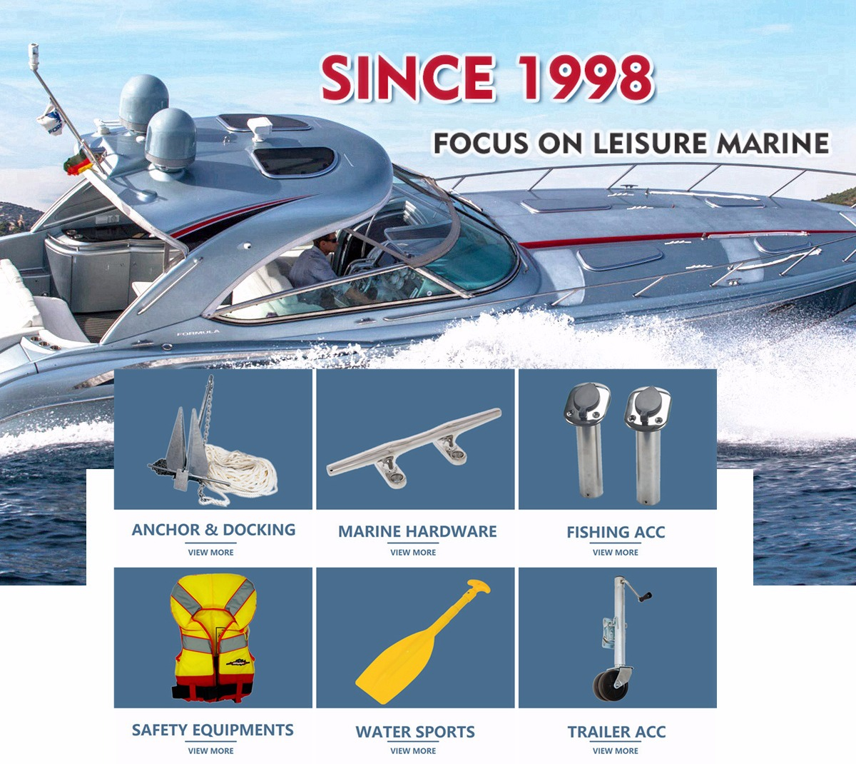 Yangzhou Hirace Outdoor Co., Ltd. - Outdoor Products, Boat Accessories