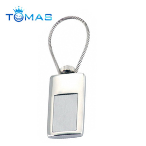 Novel magnetic metal steel wire key ring