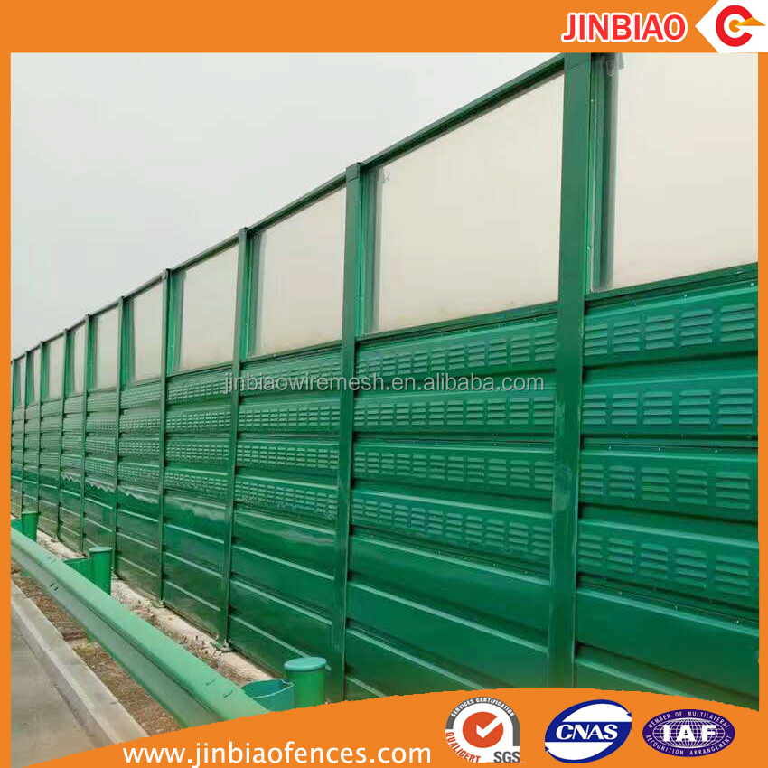 decrease noise pollution/noise barrier fence