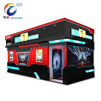 Trailer moving 5d 7d cinema theater movie/high quality 5d cinema/7d cinema simulator