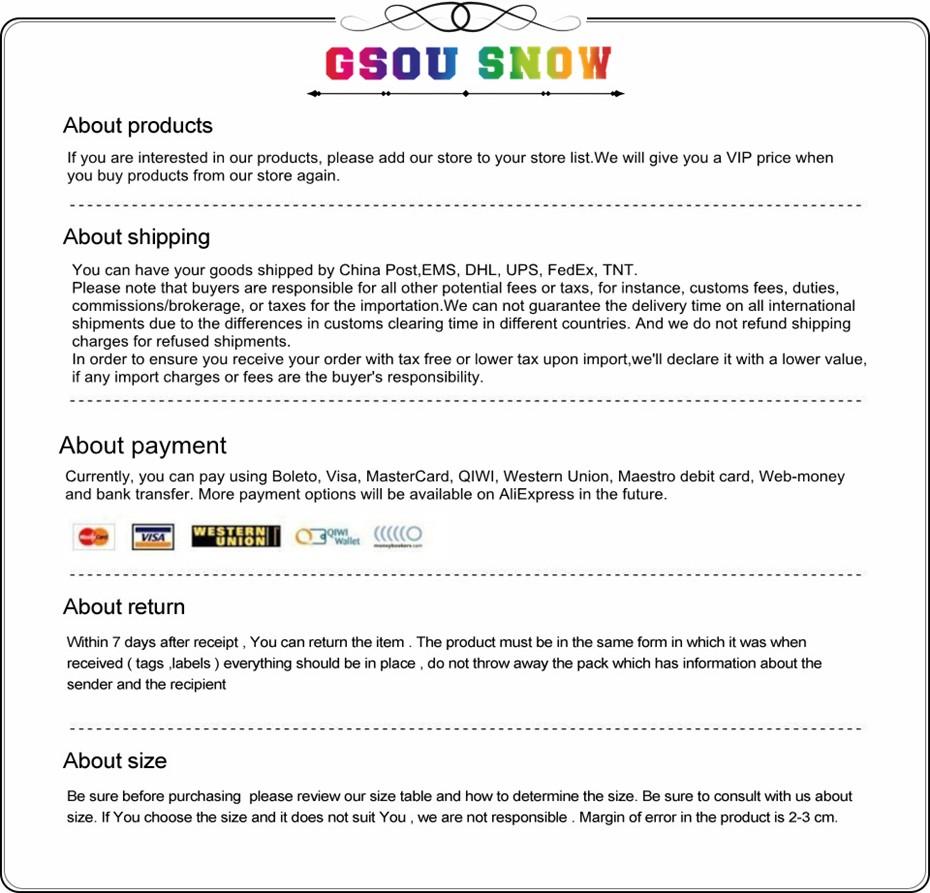2019 GSOU SNOW Brand Ski Jackets Women Winter Snow Coats High ... 4364b9aa1