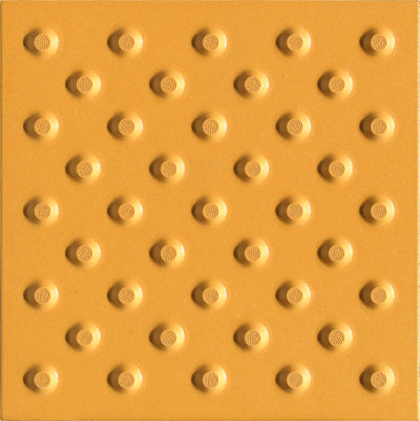 Porcelain pattern tactile indicators/round dot tactile tile/integrative detectable warning tactiles