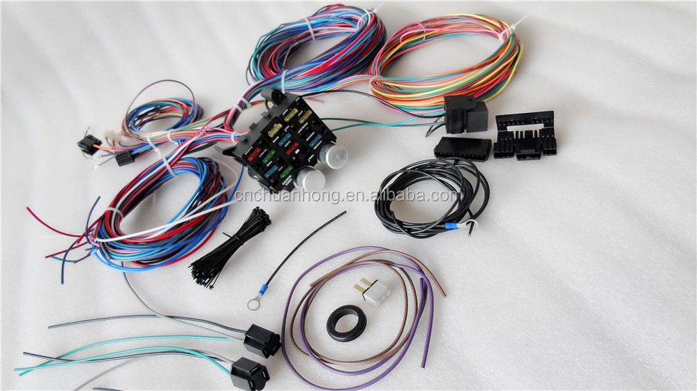 Cnch New Kit Chassis Wire Harness For Jeep Cj7 Cj5 1976-1983 - Buy Wiring  Harness,Automobile Cylinder Wire Harness,Car And Truck Ignition Wires  Product on Alibaba.com | Cj5 Wiring Harness Complete Kit |  | Alibaba