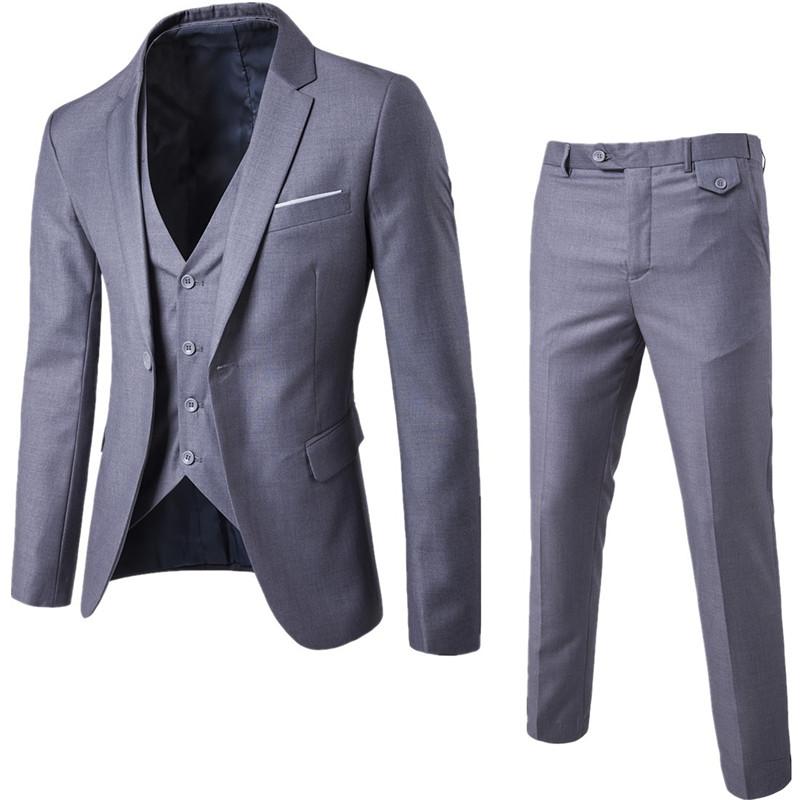 Venta al por mayor traje color gris-Compre online los mejores traje ...