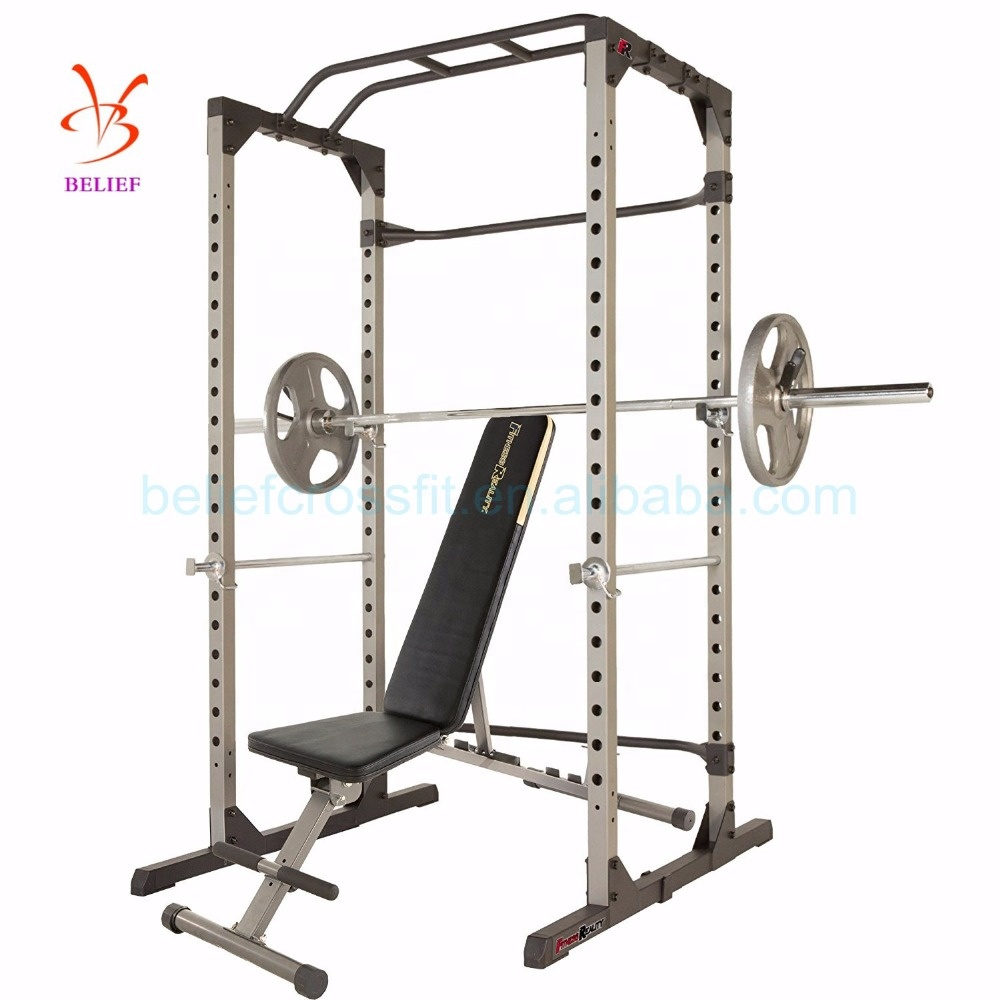 Fitness Power Rack Multifunktions Käfig Home Gym