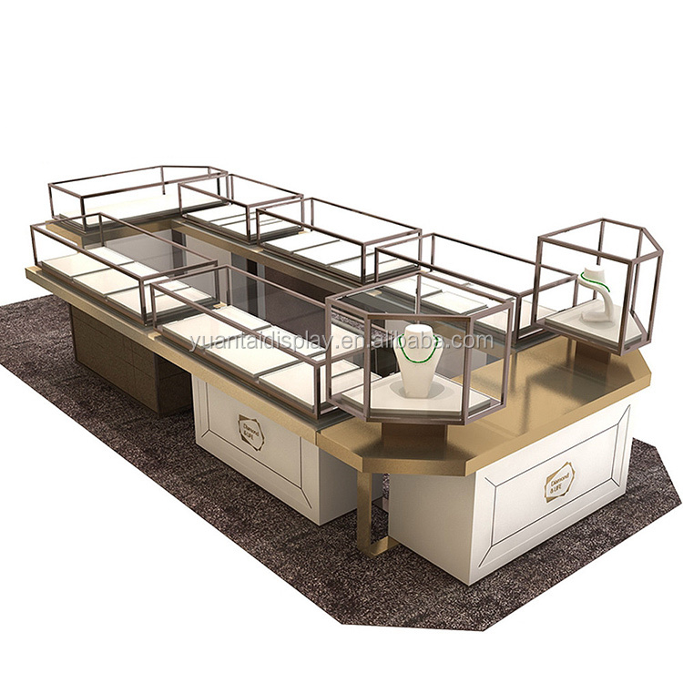 Luxury jewelry store furniture display showcase for sale