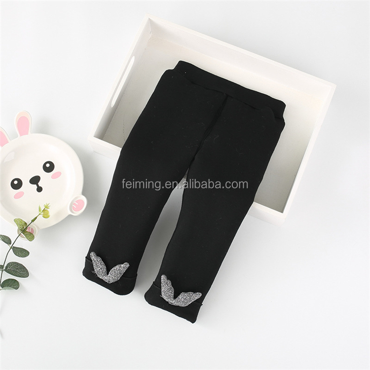 Wholesale Hot Selling High Quality Warm Cotton Kids Girls Tight Baby Leggings