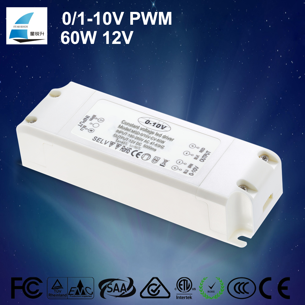 CE TUV certificates listed 45W 60W dimmable ballast 0-10v