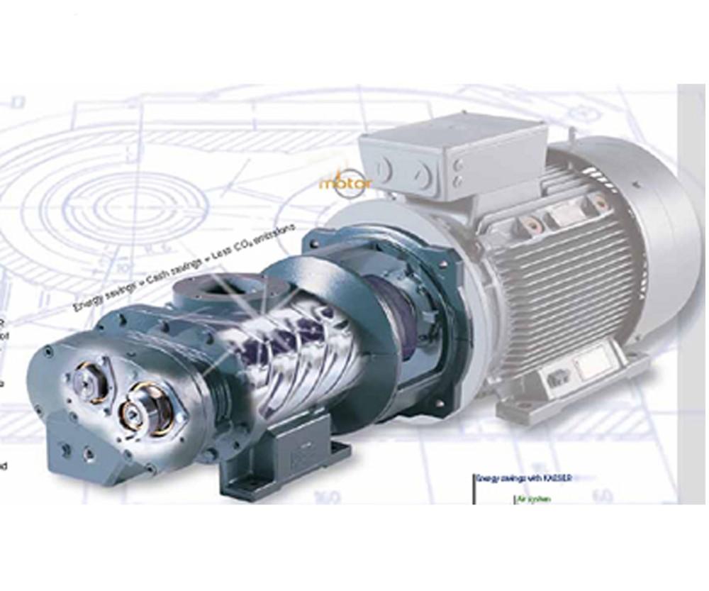 Aatlas Copco Compressor 3 Phrase Electric Motors 220 Volt