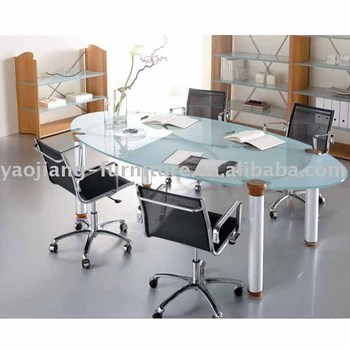 Glass Conference Table Office Furniture