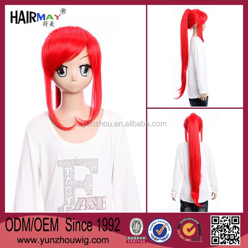 GURREN LAGANN yoko long red cosplay wigs