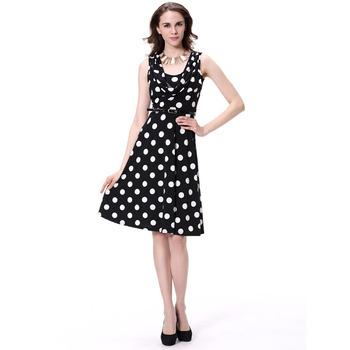 4f466f01ca1 Alibaba blanco y negro de punto vestido de moda de señoras últimos diseños  de vestidos para