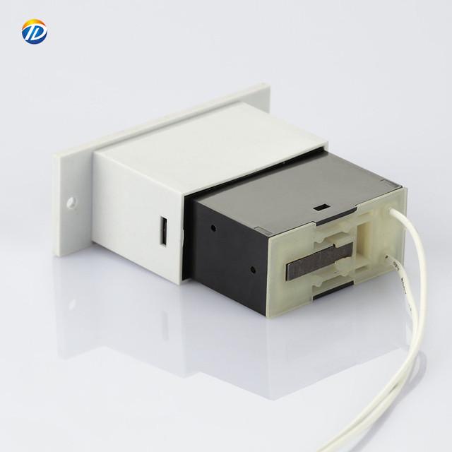 Compteur dimpulsions num/érique m/écanique Compteur dimpulsions /électromagn/étiques LFC-6 6 chiffres 0-999999 Compteur m/écanique de totalisateur industriel 24V