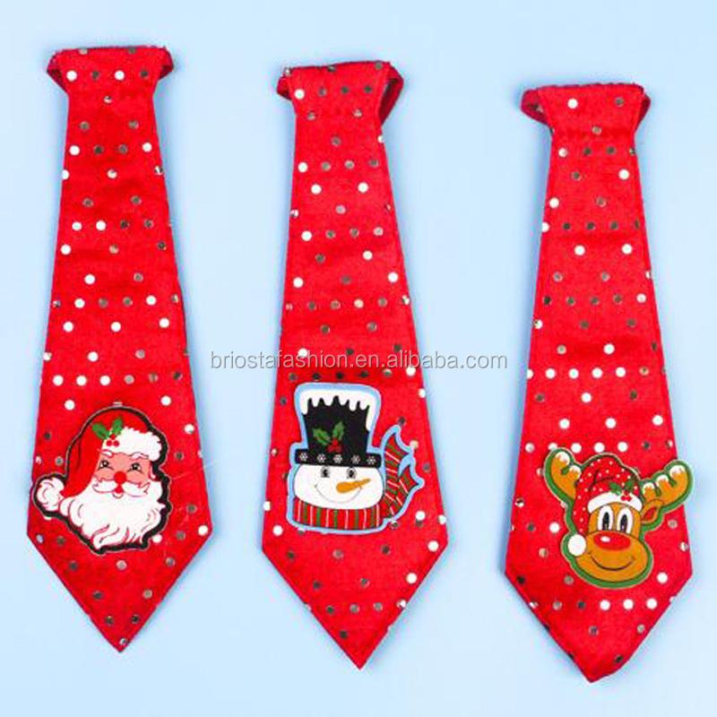 Hot Selling Kids Funny Christmas Tie - Buy Christmas Tie,Kids ...