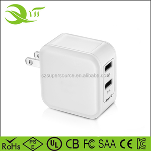 Amazon Bestseller Dual USB Charger 5V 4.8A Travel Wall Charger Fast Mobile Phone Charger Adapter EU AU US For Phone X 8 Plus 7 6