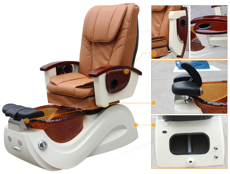 Gold Seal Systems Pedicure Chair For Nail Salon Furniture With Client S813