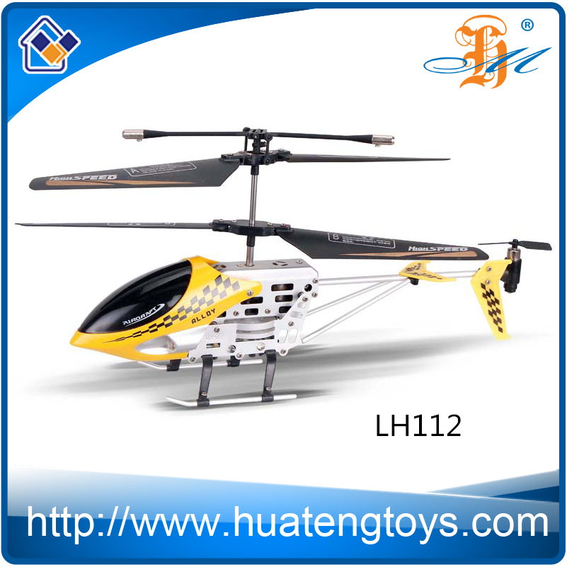 2016 New 3.5 ch metal helicopters toy for adult rc model