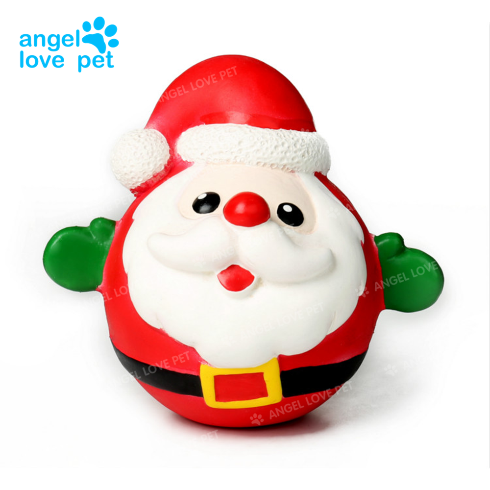 Santa Claus singing christmas dog pet toys