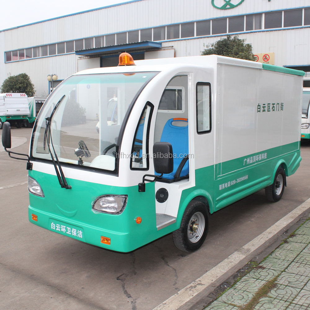 Low Sd Small Electric Delivery Truck For
