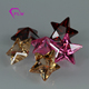Hot sale various color cz stone star shape synthetic cubic zirconia for jewelry importers