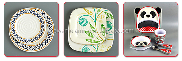 Royalty elegant crockery like melamine dinner set for kitchen and dinnerware