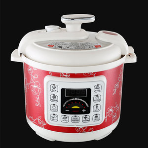 Fashionable simple design high power majestic plastic pressure cooker