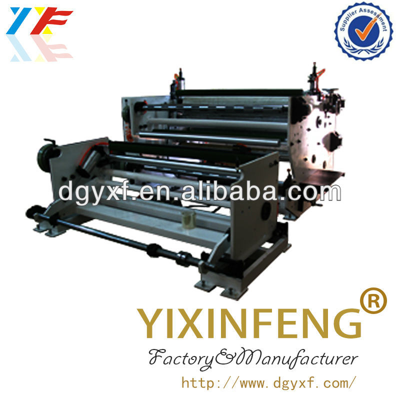 Stretch Film Slitting Machine/Slitting Machine/roll material slitter