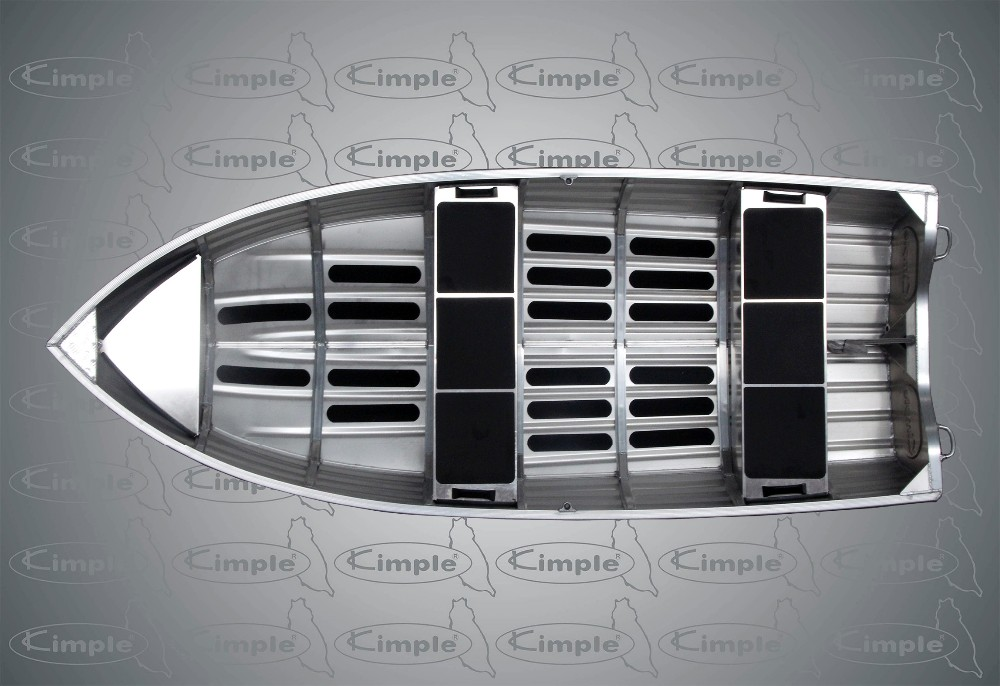 Kimple All Welded Aluminum Boat - 365 Catch