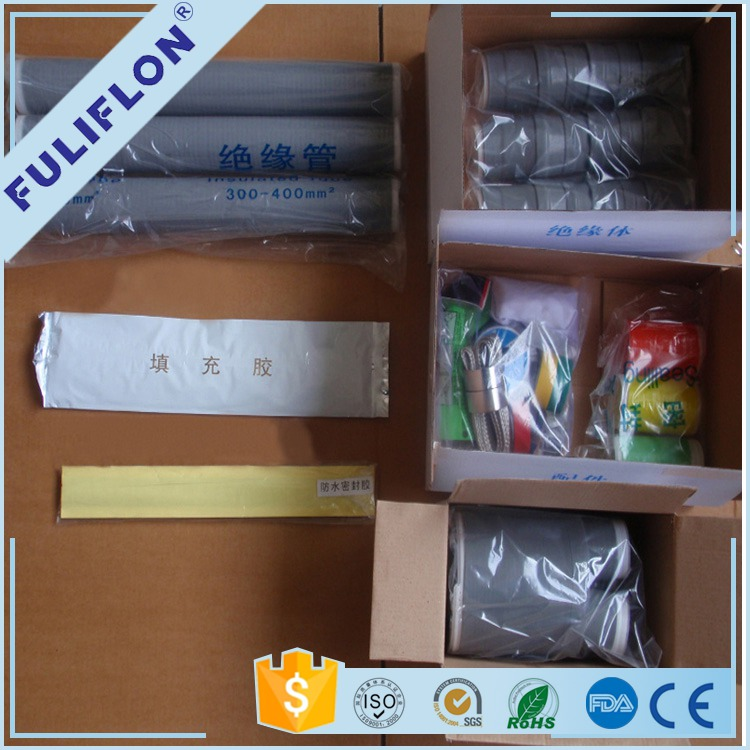 Cold shrink silicone rubber cable jointing kit raychem