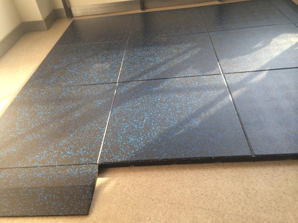 Fitness Flooring Gym Rubber Flooring Construction